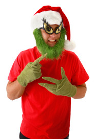 Dr. Seuss The Grinch Gloves