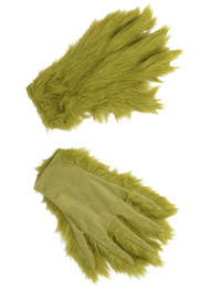 Dr. Seuss Grinch Hairy Green Gloves