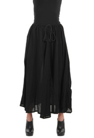 elope Pirate Parachute Skirt Black