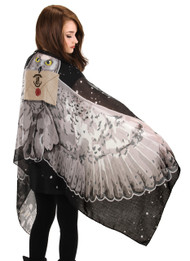 Warner Bros Hedwig Lightweight Wing Scarf
