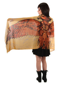 Warner Bros Fawkes Lightweight Wing Scarf