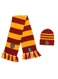 Warner Bros Hogwarts Knit Hat & Knit Scarf Set