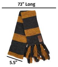 Warner Bros Newt Scamander Hufflepuff Knit Scarf
