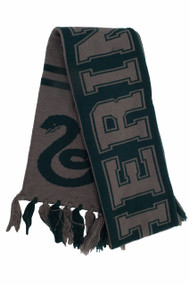 Warner Bros Slytherin Reversible Knit Scarf