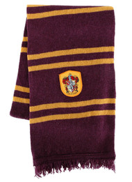 Warner Bros Gryffindor Lambs Wool Knit Scarf
