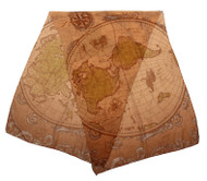 elope Ye Olde World Map Lightweight Scarf
