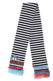 Dr. Seuss Thing 1&2 Striped Scarf