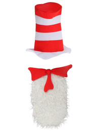 Dr. Seuss The Cat in the Hat Unisize Insta-Tux Kit