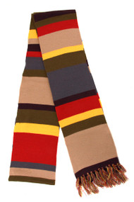 BBC Fourth Doctor Deluxe Long Knit Scarf 12'