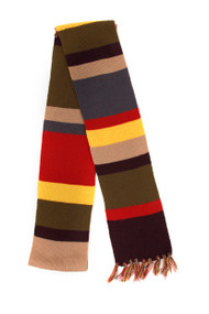 BBC Fourth Doctor Knit Scarf 6'