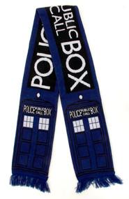 BBC TARDIS Knit Scarf