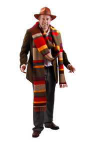 BBC Fourth Doctor Premium Knit Scarf 17'
