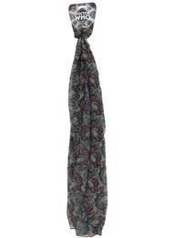 BBC Seventh Doctor Lightweight Paisley Scarf