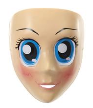 elope Anime Mask Blue Eyes
