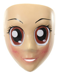 elope Anime Mask Brown Eyes