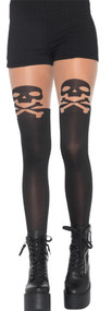 TIGHTS SKULL AND CROSSBONE