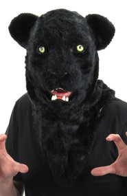 elope Black Panther Mouth Mover Mask