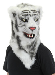 elope White Tiger Mouth Mover Mask