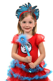 Dr. Seuss Thing 1&2 Pom Wand