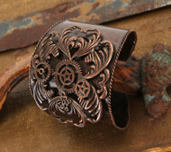 elope Cuff Antique Copper