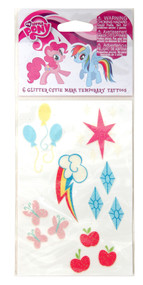 Hasbro My Little Pony Cutie Mark Temporary Tattoo Set