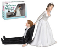 CAKE TOPPER - GROOM RELUCTANT