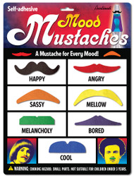 Mood Mustaches 7pc