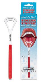 Tongue Scraper Stocking Stuffer