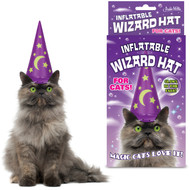 WIZARD HAT - INFLATABLE FOR CAT