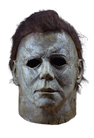 Halloween 2018 Michael Myers Deluxe Latex mask with hair. Front view