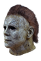 Halloween 2018 Michael Myers Deluxe Latex mask with hair. Left side view