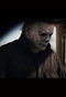 Halloween 2018 Michael Myers Deluxe Latex mask with hair. Pensive pose reflecting on past kills