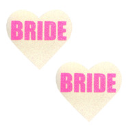 Pasties Bride Glitter UV PNK