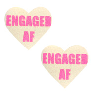 Pasties Engaged Glitter UV Pink