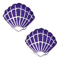 Pasties Mermaid Shell Purple