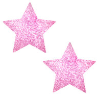 Pasties Glitter Star PINK
