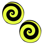 Pasties Spiral Yellow/Black