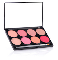 8 Shade Cheek Powder Palette