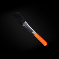 Black Handle Silver Complexion Powder Brush