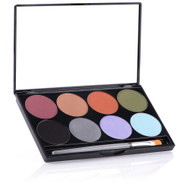 8 Color iNtense Pro Earth Pressed Pigment Palette