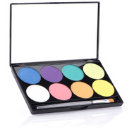 8 Color iNtense Pro Fire Pressed Pigment Palette