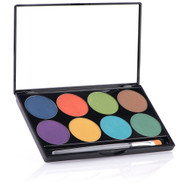 8 Color iNtense Pro Wind Pressed Pigment Palette