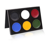 6 Color Bold Mask Cover Palette