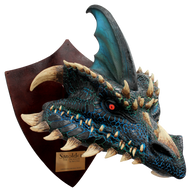 Smolder the Black Dragon - Trophy Image