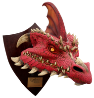 Ember the Red Dragon - Trophy Image