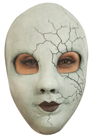 Creepy Doll Face Image