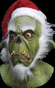 Green Santa Image
