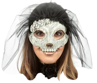 Catrina with Veil: Pale 5 Image