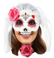Catrina with Veil: Colored 6 Image