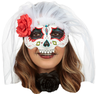 Catrina with Veil: Colored 7 Image